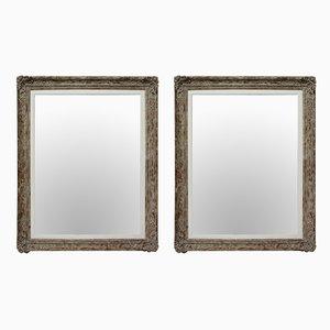 Specchi Mid-Century, Francia, anni '50, set di 2