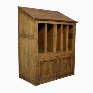Antiker viktorianischer Schreibtisch aus Kiefernholz