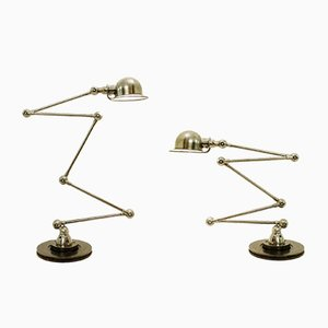 Vintage Table Lamps by Jean-Louis Domecq for Jieldé, Set of 2