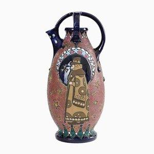 Vase Antique en Céramique de Amphora / Riessner, Stellmacher & Kessel