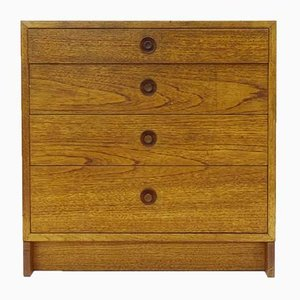 Vintage Scandinavian Oak Chest of Drawers by Karl Anderson for Borge Mogensen