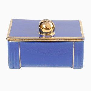 Box aus Keramik von Boch Frères, 1930er