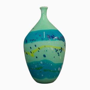 Englische Vintage Glasvase