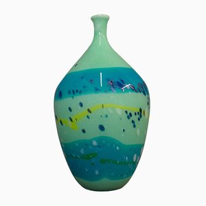 Vase Vintage en Verre, Angleterre