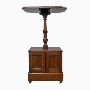 Mesa inglesa antigua de nogal
