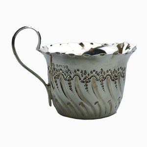 Antique Victorian Silver Jug by James Deakin & Sons for James Deakin & Sons, 1880s