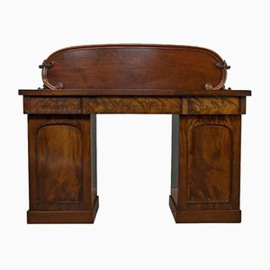 Antique Victorian English Mahogany Dressing Table