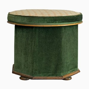 Antique Victorian Storage Ottoman