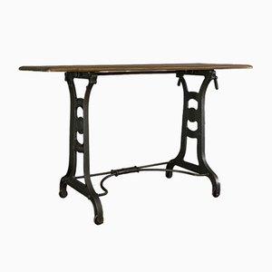 Table de Travail Victorienne Antique, Angleterre
