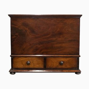 Antique Victorian English Mahogany Chest
