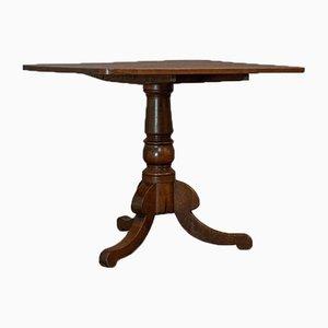 Antiker englischer Tisch mit kippbarer Tischplatte im viktorianischen Stil