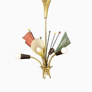 Lámpara de techo francesa, años 50