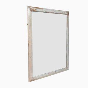 Espejo de pared victoriano antiguo de pino