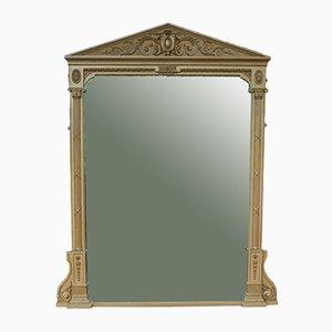 Espejo de repisa antiguo grande