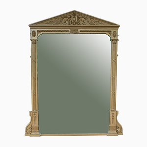 Large Antique Mantel Mirror