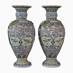 Vintage Ceramic Vases, Set of 2