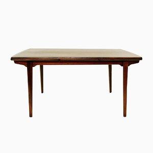 Table de Salle à Manger Extensible Vintage en Palissandre par Kai Kristiansen