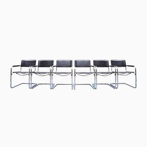 S34 Esszimmerstühle von Mart Stam & Marcel Breuer für Thonet, 1980er, 6er Set