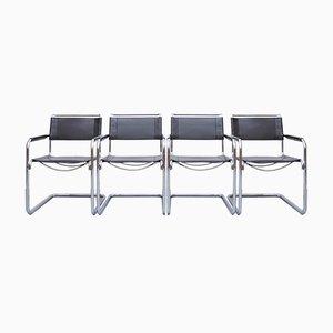 S34 Esszimmerstühle von Mart Stam & Marcel Breuer für Thonet, 1980er, 4er Set