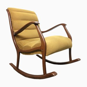 Rocking Chair par Ezio Longhi, Italie, 1960s