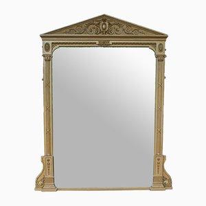 Specchio da camino grande antico