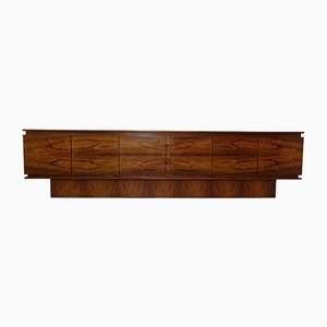 Large German Rosewood Sideboard, 1960s