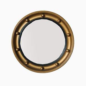 Circular Victorian Revival Convex Wall Mirror, 1950s