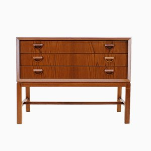 Danish Teak Set of Drawers, 1960s