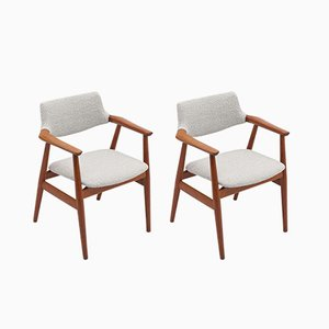Danish Dining Chairs by Svend Åge Eriksen for Glostrup, 1962, Set of 2