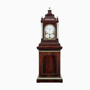 Reloj Regency antiguo de caoba de Thwaites and Reed