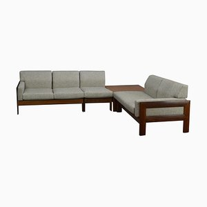 Vintage Afromosia Teak Modular Living Room Set from Forpro, 1960s