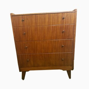 Vintage Walnut Dresser from Lebus, 1950s