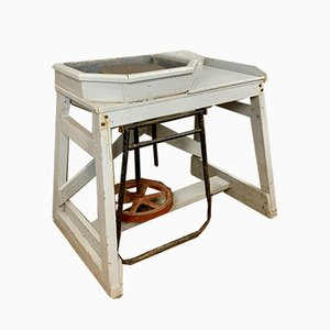 Vintage English Potters Wheel, 1950s
