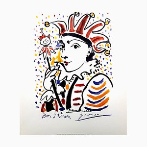 Carnaval Lithograph by Pablo Picasso, 1958