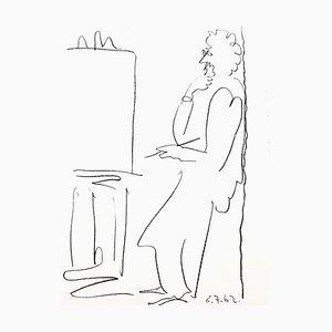 Lithographie The Painter par Pablo Picasso, 1962