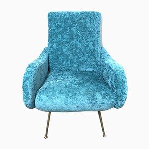 Italian Lady Lounge Chair by Marco Zanuso, 1950s