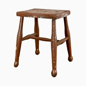 Vintage French Farmhouse Stool