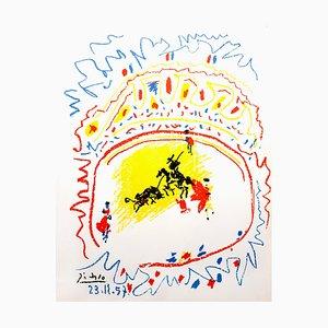 Litografía La Petite Corrida de Pablo Picasso, 1958
