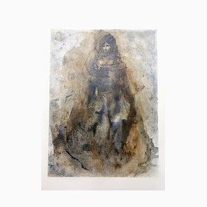 Lithographie Sadness par Leonor Fini, 1964