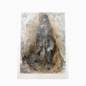 Sadness Lithografie von Leonor Fini, 1964