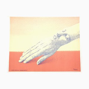 Indiscrete Jewelry Lithograph by René Magritte, 1963