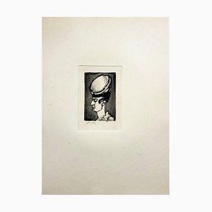 Gravure Ubu the King par Georges Rouault, 1929