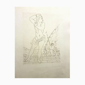 Vintage Ovid's Heroides Etching by André Derain