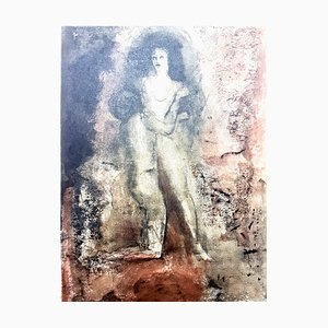 Vintage Rejection Lithografie von Leonor Fini