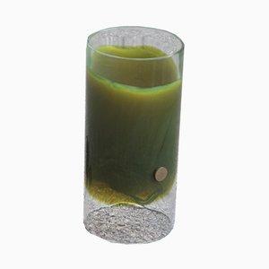 Lámpara de mesa italiana de cristal de Murano de Mazzega, años 60