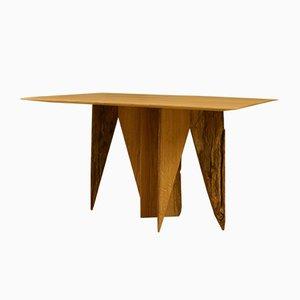 Normandy Oak Side Table by Timothée Musset