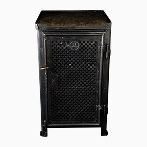 Steel Cabinet by Robert Wagner for Rowac, 1920s