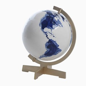 Earth Globe Sculpture by Alex De Witte