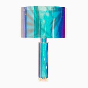 Tischlampe mit kinetischen Farben von Brajak Vitberg