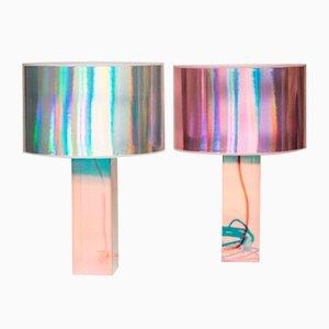 Lampada da tavolo Kinetic Colors di Brajak Vitberg